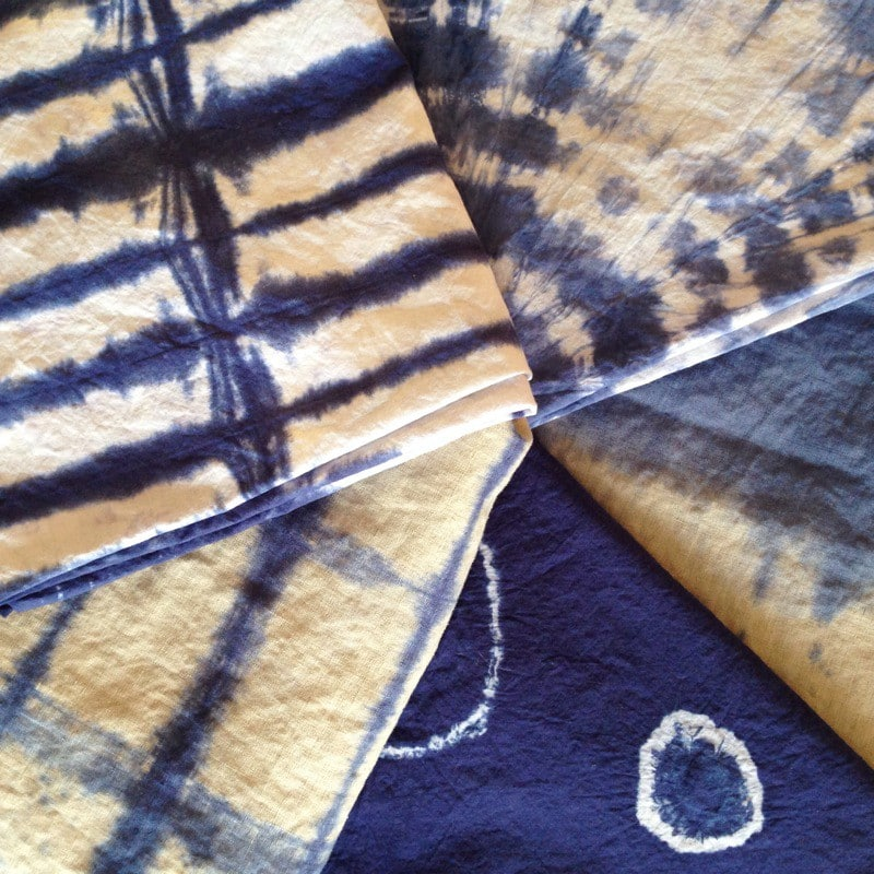 Shibori Dyeing Tutorial - Centered by Design