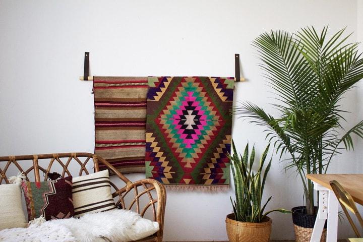 textile display hanger