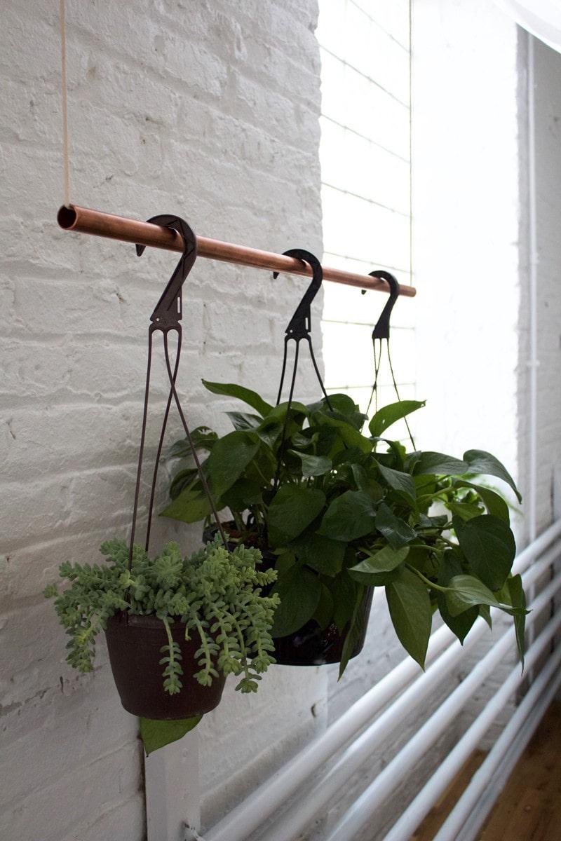 Diy Copper Bar Plant Holder Centered By Design