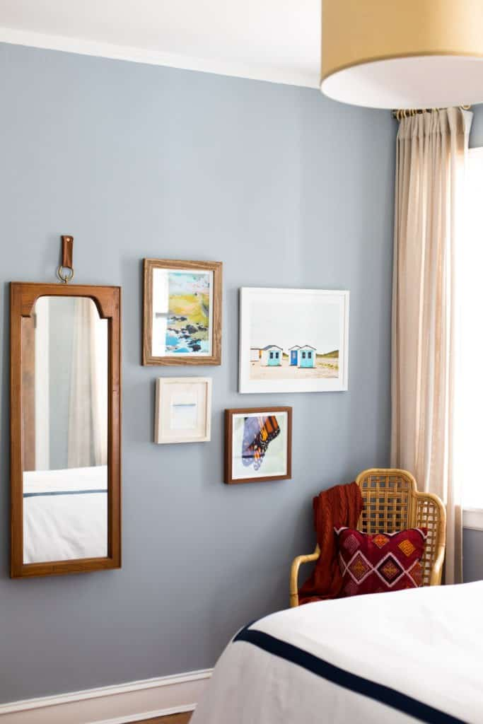 benjamin moore solitude blue bedroom centered by design