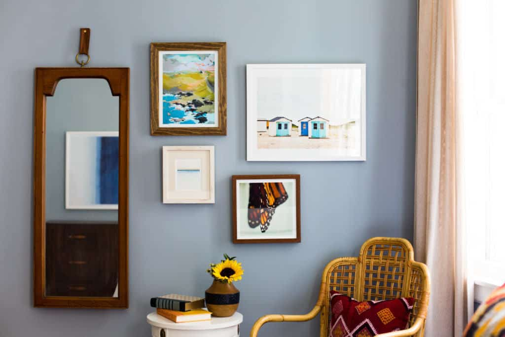 benjamin moore solitude blue bedroom