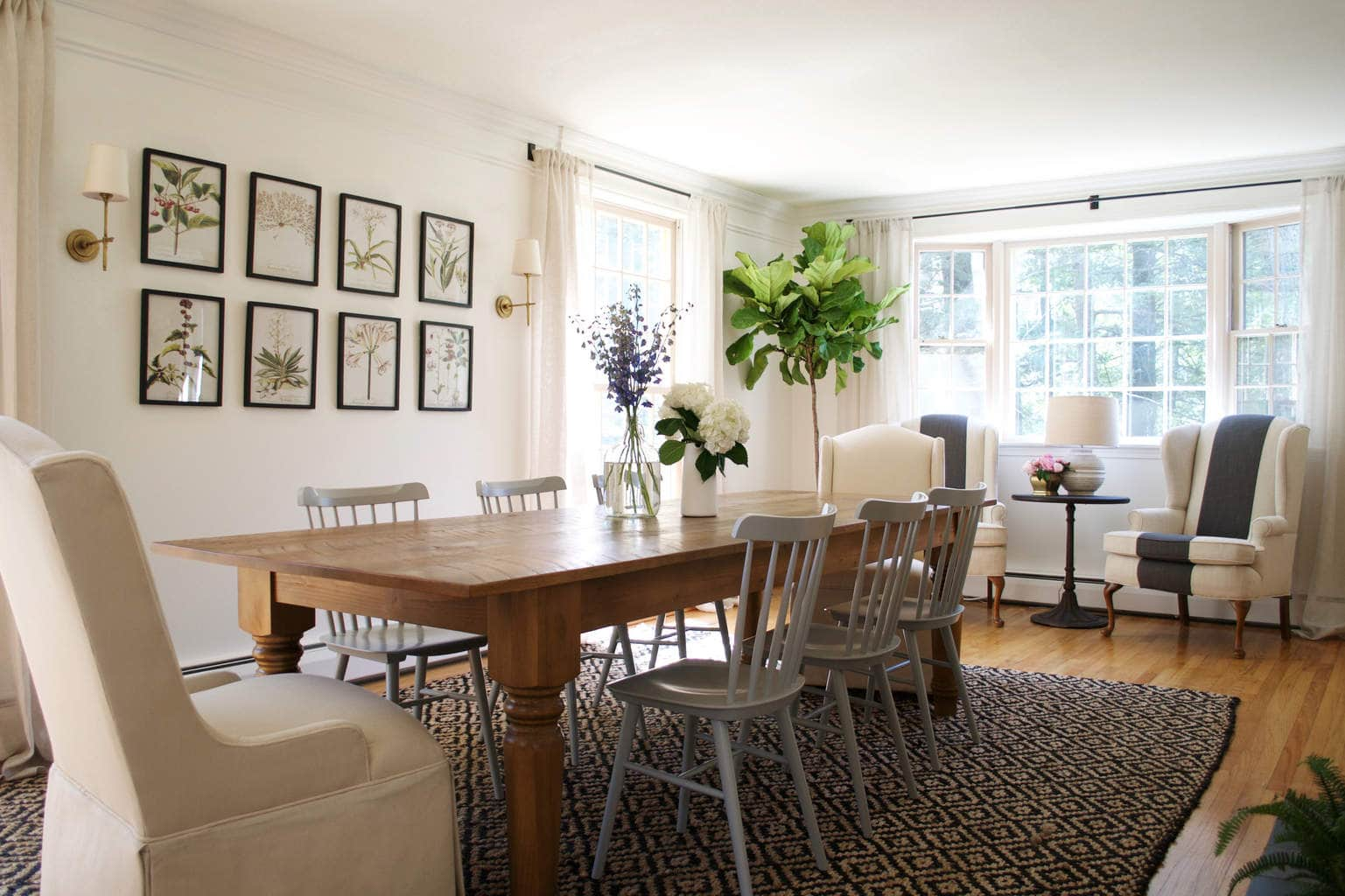 Dining room by Rehabitat