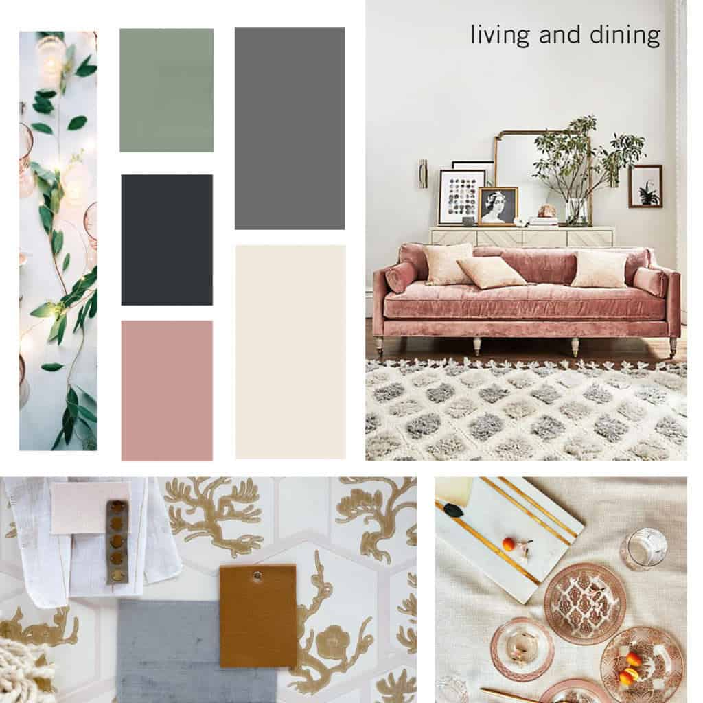 romantic color palette