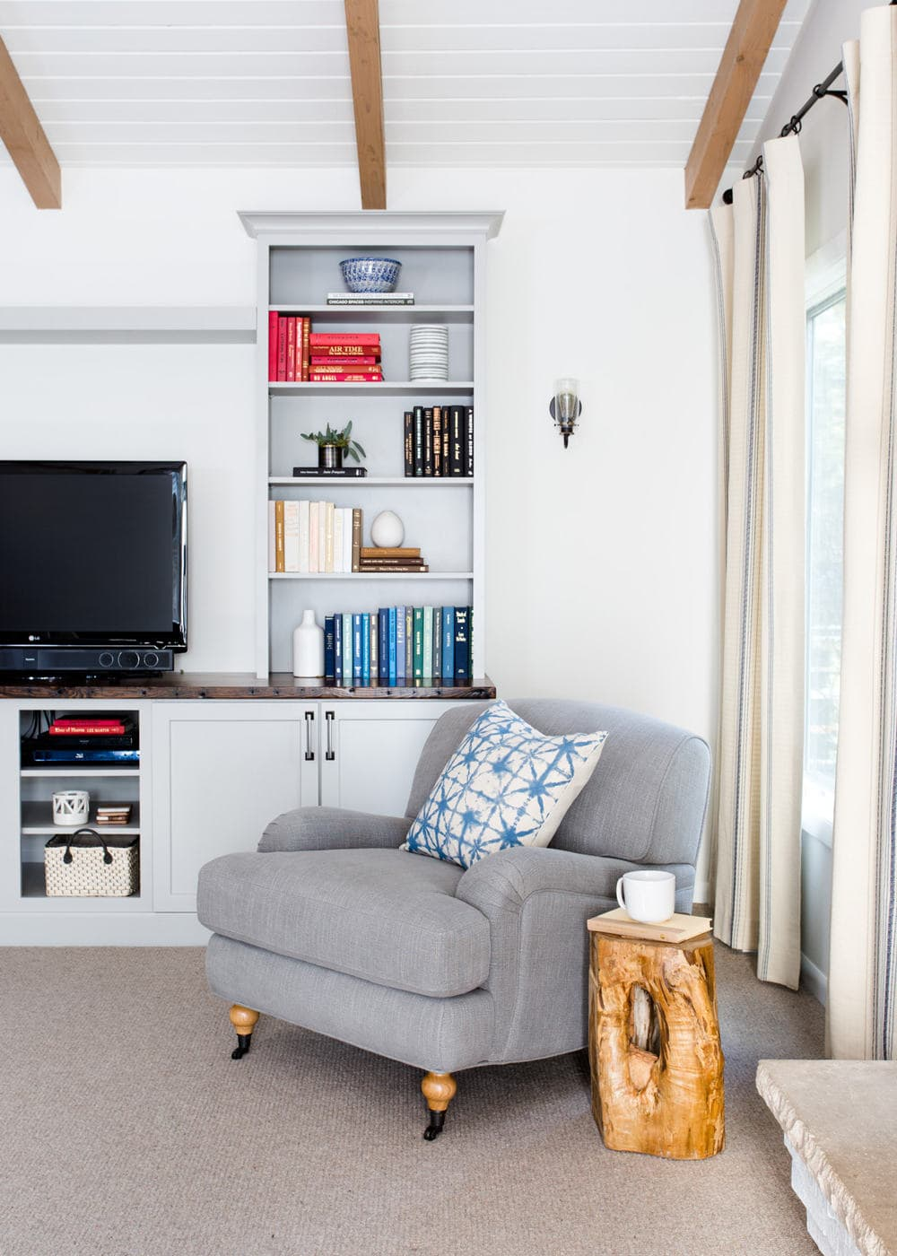 suburban-family-room-chair - Centered by Design