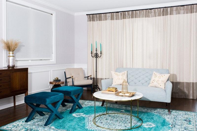 Teal Rug Living Room Centered By Design Centered By Design