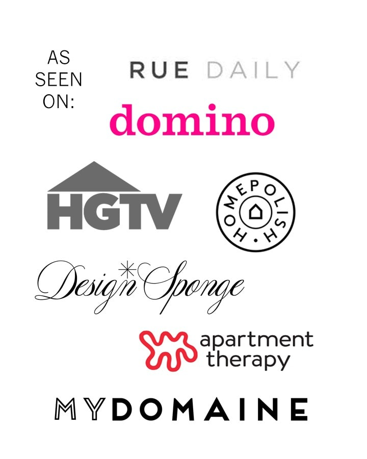Logos of Sites that Centered by Design has been featured on.