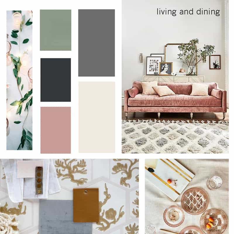 How to create a mood board for interior design projects for Home design vision board