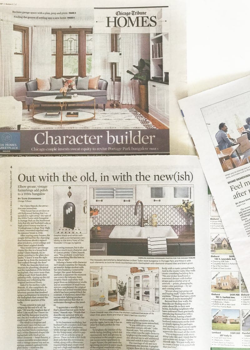 chicago tribune chicago couple renovates