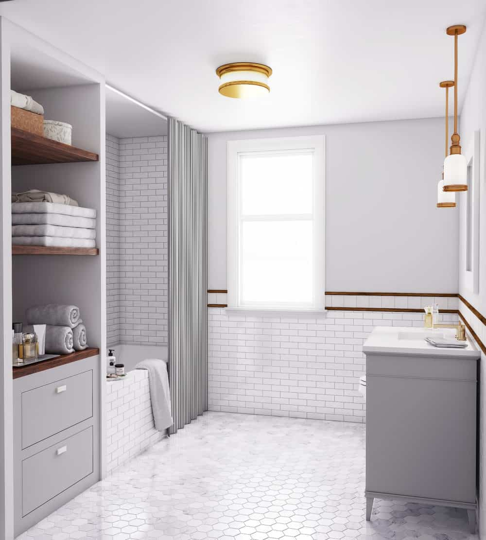 Small bathroom remodel before and after design ideas for Bathroom remodel reno nv
