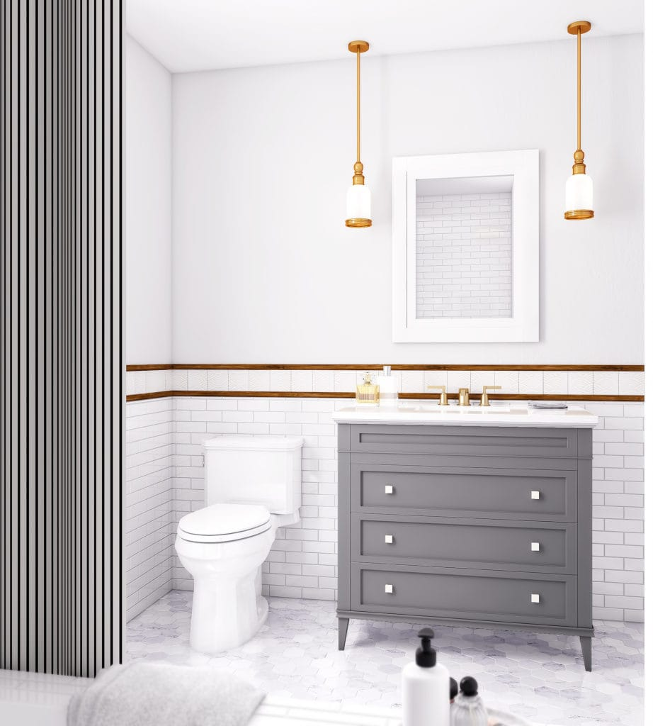 Small bathroom remodel before and after design ideas for Ll bathroom design