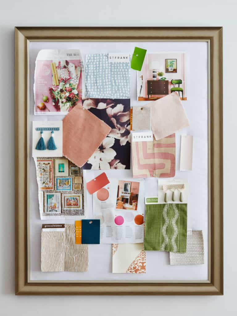 modern bulletin board diy project