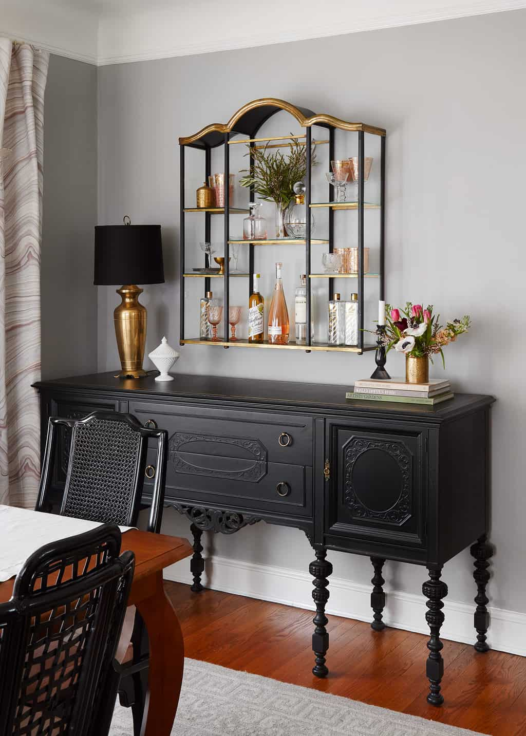 home bar styling
