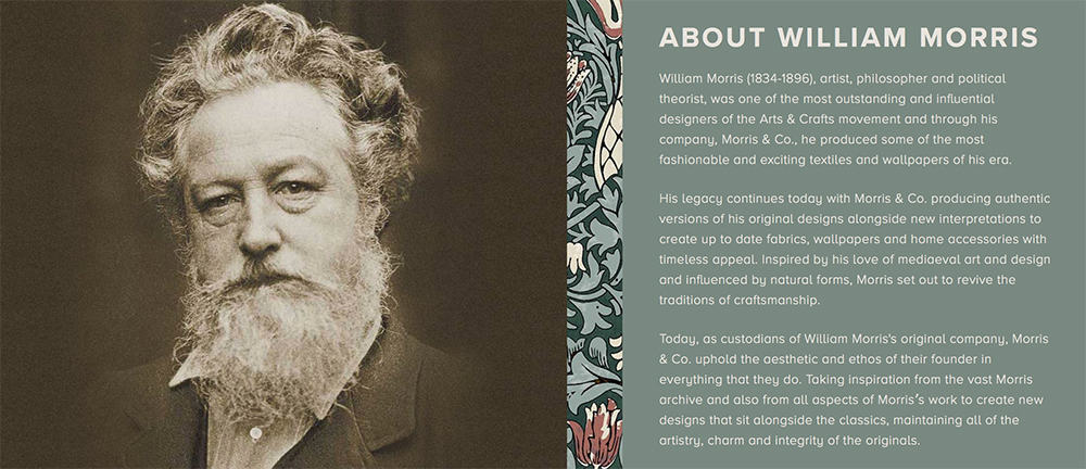 william morris fabrics