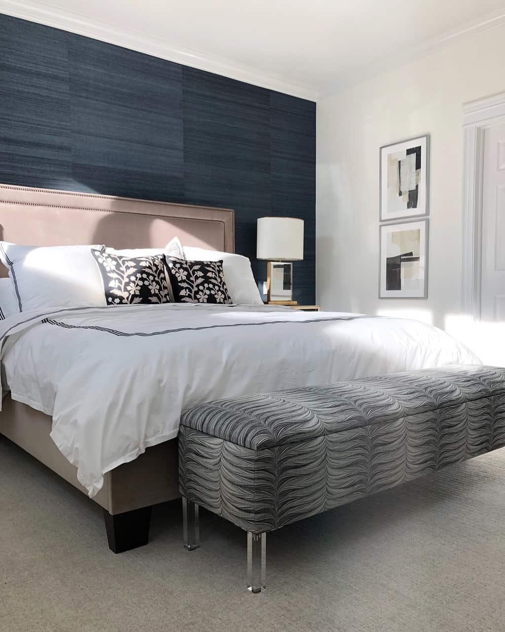 bedroom+mountain+peak+white+paint