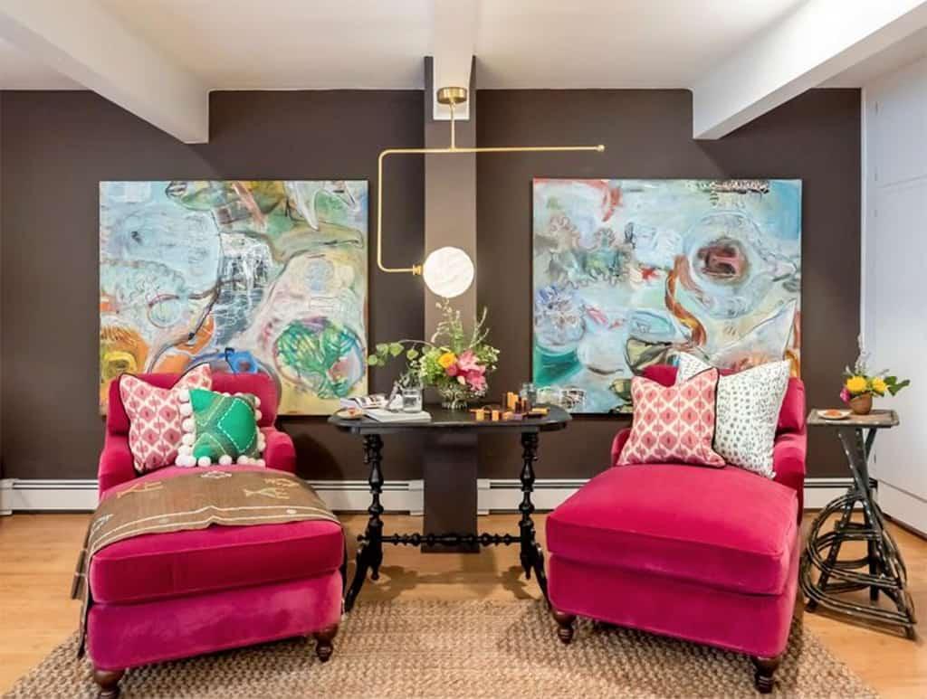 pink+velvet+chairs