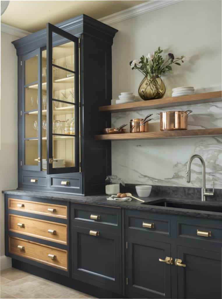 Dark Gray Kitchen Cabinets Trending For 2020 Centered By Design