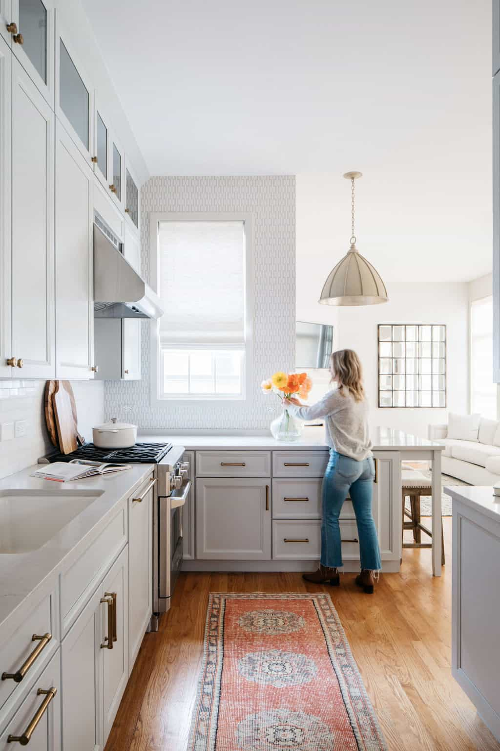 How To Use Wallpaper In Your Kitchen Centered By Design