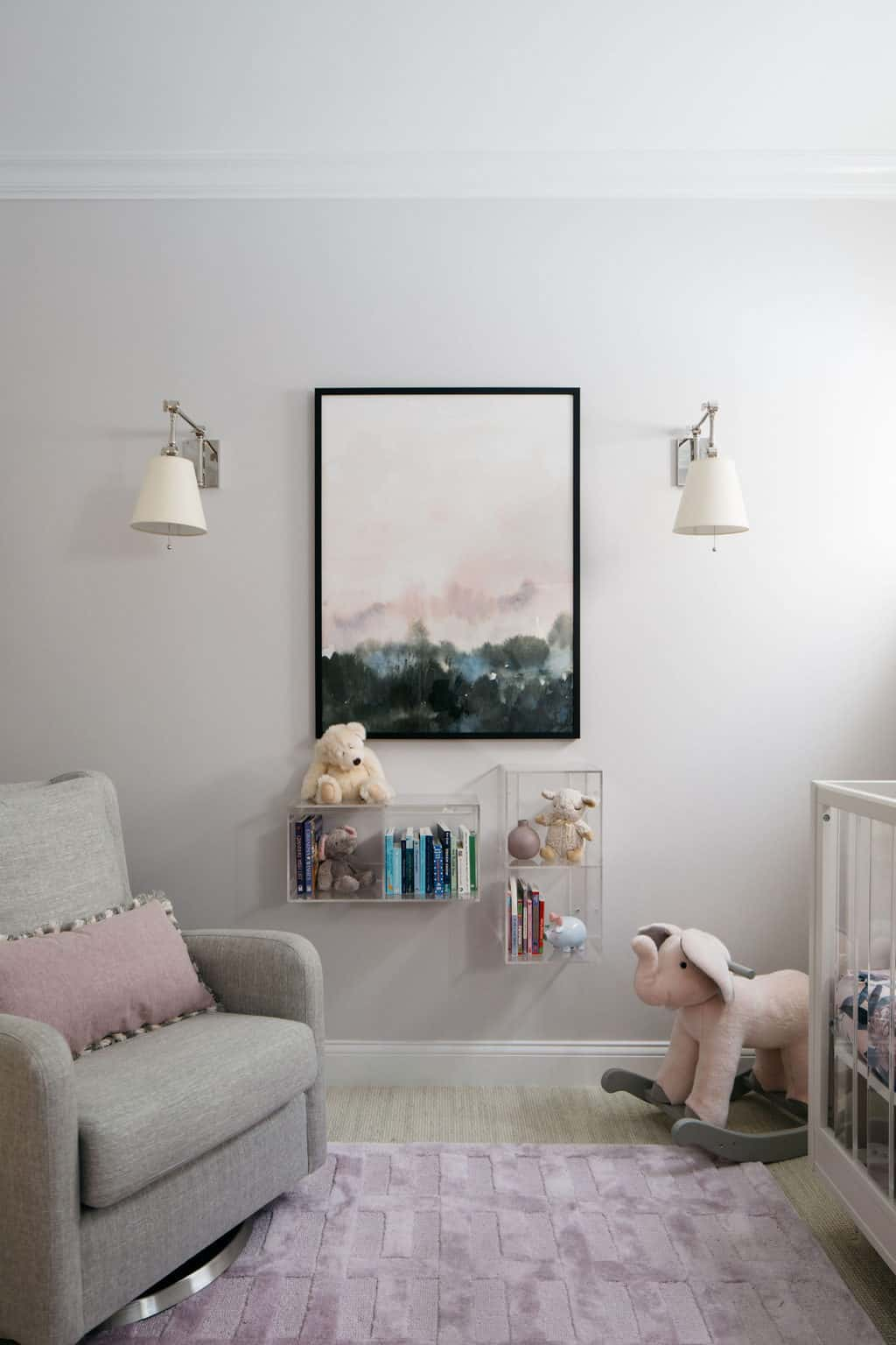 lavender+nursery+art+sconces