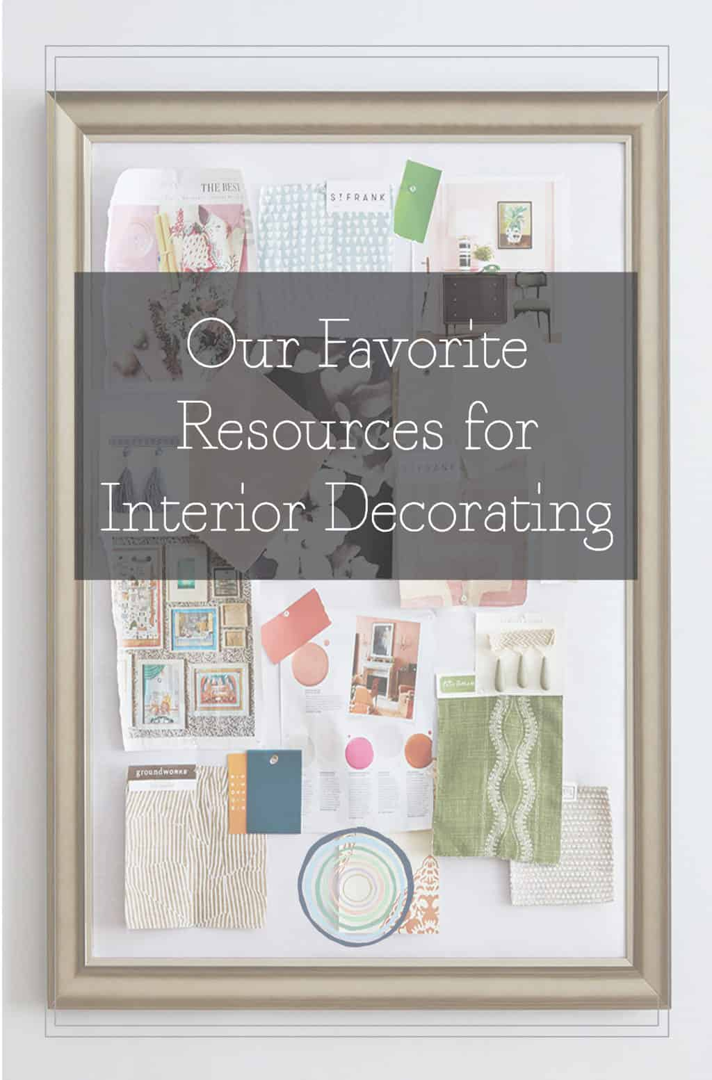 favorite interior designer resources