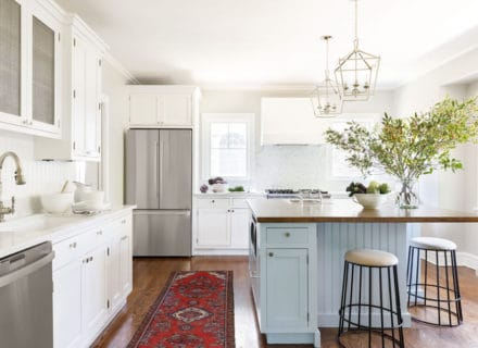 North Shore kitchen, after - Centered by Design