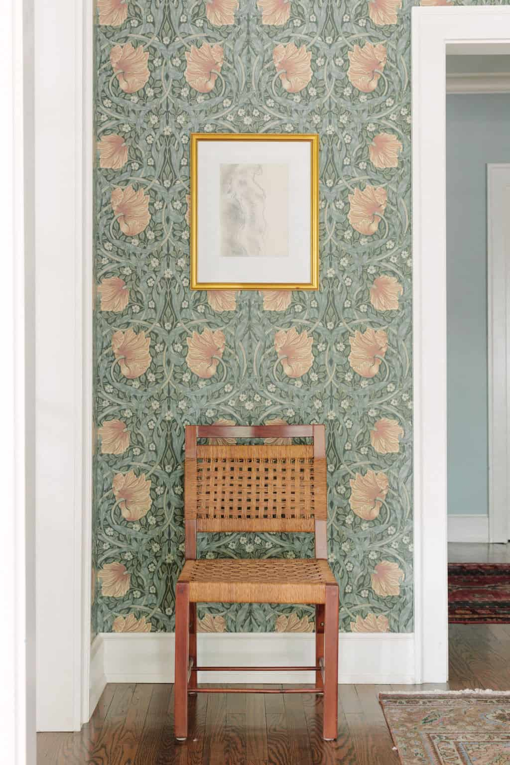 Centered by Design Portfolio, Morris & Co. Pimpernel wallpaper