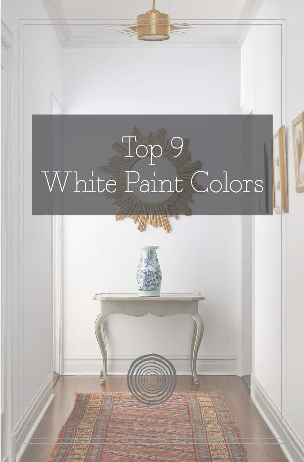 Top 9 White Paint Colors Centered By Design,Modern Cottage Bedroom Decor